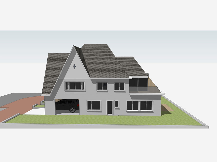 R house planomatic for R house design